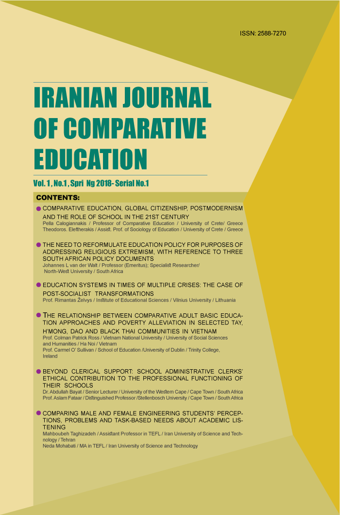 Iranian Journal of Comparative Education
